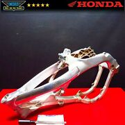 2005 Honda Crf250 Main Chassis Frame Body Assembly With Ttl Crf250r 2004-2005