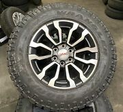 New Oem Takeoff 18 At4 Gmc Sierra And Yukon Tires Wheels 23377014 Lugs And Tpms