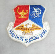 1960and039s Usaf 3500 Pilot Training Wing Squadron Patch
