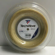 New Tecnifibre X-one Biphase Tennis String 16g 1.30, 660 Ft Reel. Multifilament