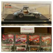 Hw Rlc And03955 Mercedes/boss 302/vw Drag Bus/and03932 Ford/and03964 Impala/and03966 Super Nova Lot.