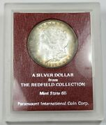 1897-p Paramount Redfield Collection Silver Morgan Dollar 1 Us Coin Item 27299d