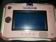 Vtech Innotab 3 Pink Touch Learning Tablet W/ Game Tested And Stylist
