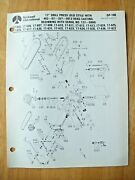 Rockwell 17 Drill Press Old Style Begin With Serial 137-5800 Parts List Dp-10b
