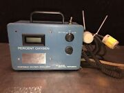 Teledyne Portable Oxygen Analyzer. No Power. Offered For Parts/not Working