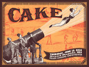 Cake Poster - Status Serigraph - Limited Edition Of 100