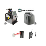 Viking R6 Residential Swing Gate Openers Access Systemsafety Photocell And Monitor