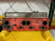 Sbc Pair Of Small Block Chevy Cylinder Heads With Valve Covers