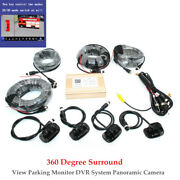Car Truck View Parking Monitor Dvr System Panoramic Camera 360anddeg Surround Usb Kit
