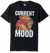 Disney Menand039s Beauty And The Beast Current Mood Gra - Choose Sz/color