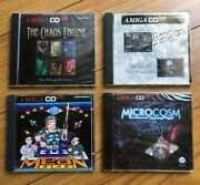 Lots Of 4 Games Commodore Amiga Cd32 Rare Nos New Factory Sealed