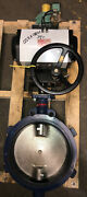 """New Old-stock, Unitorq M586 Da/dls Pneumatic Actuator With 12"""" Butterfly Valve"""