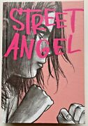 Jim Rugg Street Angel Signed W/ Full Page Drawing Hc 2014