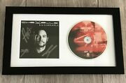 Chevelle Band Signed Autograph La Gargola Framed And Matted Cd Pete Sam And Dean