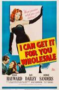 Can Get It For You Wholesale Poster Us Susan Hayward Old Movie Photo