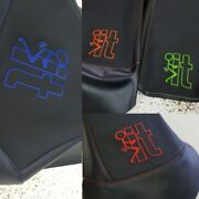 Can Am Outlander 450l 500l Seat Cover Screw It Logo Colored Thread 2012 And Up