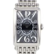 Auth Franck Muller Watch Long Island Relief 902qz Rel Oac Stainless Steel Quartz