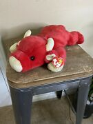 Ty Beanie Babies 1998 Snort Bull 14 Retired Rare Vintage Collectible
