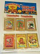 1985 Gpk Garbage Pail Kids Vintage Imperial Toys Stick On Puffy Picture Lot 13