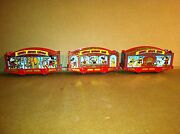 Lionel Mickey Mouse Circus Train Car Set By Pride Lines