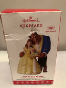 2017 Hallmark Keepsake Tale As Old As Time Disney Beauty And The Beast Ornament