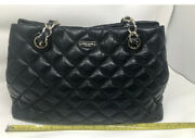 Kate Spade Gold Coast Maryanne Black Quilted Leather Chain Shoulder Bag