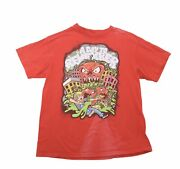 Vintage 90s Attack Of The Killer Tomatoes Movie Promo T Shirt Size Large Vtg