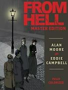 From Hell Master Edition Hc Brand New Unread Alan Moore Jack The Ripper Campbell