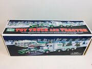 2013 Hess Toy Truck And Tractor With Lights And Sounds New In Original Box