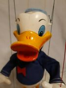 Pelham Puppets Donald Duck Walt Disney Original Box Instructions Are A Copy