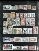 Italy M And U Collection In Vario Stock Sheets 1863-1957. Cat.2031.45