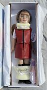 """Penny And Friends Robert Tonner Doll 2000 Red Hair Green Eyes Red Leather 19"""" Nib"""