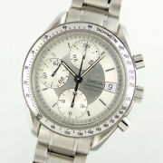 Omega Speedmaster Chronograph 175.0083 Automatic Silver Dial Menand039s Watch [u0417]