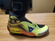 Valentino Rossi Autographed Dainese Race Boot Original Dainese Valentino Rossi