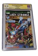 Cgc 9.9 Coffin Comics Lady Death Merciless Onslaught Dr Strange 1 Homage Signed
