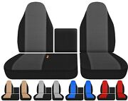 Front Truck Seat Covers Fits Isuzu N Series Npr Nqr Nrr 1996-2021 Choose Style