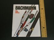 Bachmann 1974 Train Catalog 32 Pages Model Railroad Kits Accessories Racing