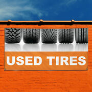 Vinyl Banner Sign Used Tires Auto Car Vehicle Style G Marketing Advertising