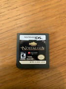 Nostalgia Nintendo Ds Game Cart Only - Us Version - Authentic - Ships Free
