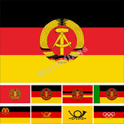 East Germany Flag 3x5ft Historical National State Provinces Army Royal Banner