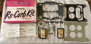 Nos Cadillac Carter Afb Deluxe Rebuild Carburetor Kit W/new Shimrods And Jets
