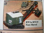 Bucyrus Erie Rw19 Shovel Excavator Kit 1/76 Scale By Langley Models