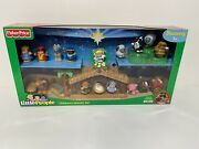 Fisher-price Little People Children's Nativity Set 2008 N4630 New In Box Sealed
