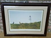 Signed Ray Ellis Rough By The Sea Turnberry Lithograph 66/500 Rare Htf Golf