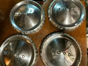 4 Used 60and039 61and039 62and039 63and039 64and039 65and039 66and039 Ford Falcon 9.5 Hub Caps