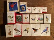 Hallmark Ornaments Huge Set 28 The Beauty Of Birds And Others