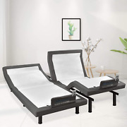 Maxx Adjustable Bed Frame With Okin Motor Electric Bed Base With Dual Massage