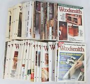 Woodsmith Magazine Lot 68 Issues Woodworking Incl. 120-167 1995-2006