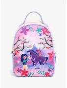 Loungefly Disney Mulan And Friends Canvas-faced Mini Backpack - Exclusive