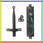 Thumb Latch For Gate Cast Iron Rustic Antique Norfolk 8 Inch Renovators Supply